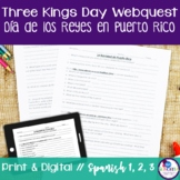 Christmas & Three Kings Day {Dia de los Reyes} in Puerto Rico Webquest