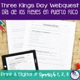 Christmas & Three Kings Day {Dia de los Reyes} in Puerto Rico Webquest
