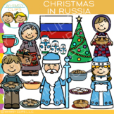 Christmas in Russia Clip Art {Christmas Around the World Clip Art}