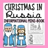 Christmas in Russia Mini-Book