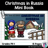 Christmas in Russia Mini Book for Early Readers - Christmas Activities