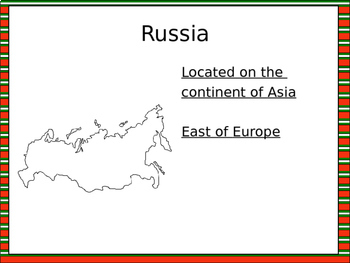 Christmas in Russia PowerPoint