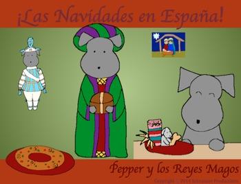 Christmas in Spain or Pepper y los Reyes Magos with Spanis