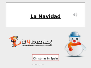 Christmas in Spain with audio