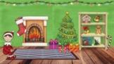 Christmas in Spanish Class Bit Emoji Room {Google Slide Format}