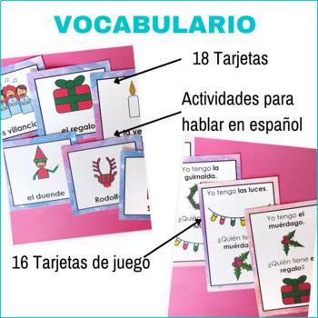 Christmas in Spanish: Flashcards and games - Tarjetas y juegos de Navidad