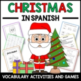 Christmas Activities and Games in Spanish - Actividades de Navidad