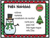 Navidad-Christmas in Spanish
