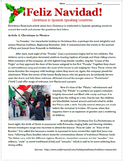 La Navidad: Christmas in Spanish-speaking Countries Reading & Sub Plan