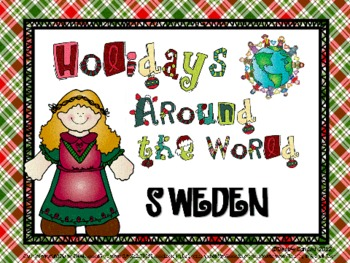 Christmas In Sweden By Sailing Through 1st Grade Tpt