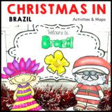 Christmas Around the World BRAZIL Maps Flags Facts
