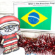 Christmas Around the World ** Brazil ** Map, Recipe & Read