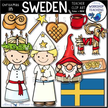 Christmas in Sweden Clip Art