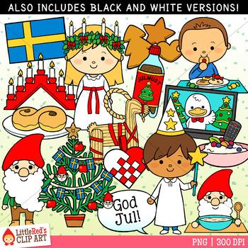 Christmas In Sweden.Christmas In Sweden Christmas Clip Art