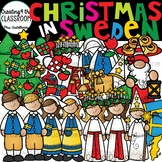 Christmas in Sweden Clipart {Saint Lucia Day Clipart}