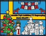 Christmas in Sweden Double Digit Addition NO Regrouping Math Craft