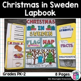 Christmas in Sweden Lapbook for Early Learners - Christmas Around the World