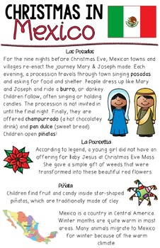 Christmas in Sweden and Christmas in Mexico: St. Lucia's Day and Las Posados