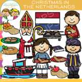 Christmas in The Netherlands Clip Art