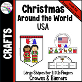 FREE Christmas in USA Crafts