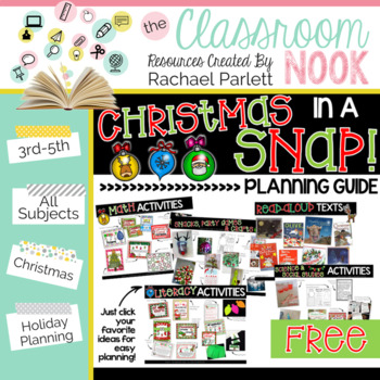 FREEBIE: Christmas in a SNAP! {Planning Guide}