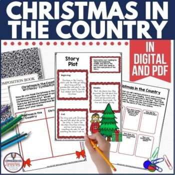 This sweet book is told from the point of view of a young girl getting ready for the holidays. This unit includes many options. Check out this post for more details.