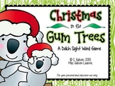 Sight Word Game - Christmas in the Gum Trees