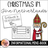 Christmas in the Netherlands Mini-Book