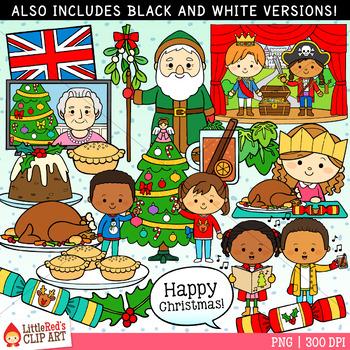 Christmas in the UK Christmas Clip Art
