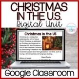 Christmas in the US DIGITAL Distance Learning Unit for GOO