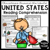 Christmas in the United States Reading Comprehension; Christmas Around the World