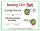 Christmas is Coming Reading Log and Certificate Set