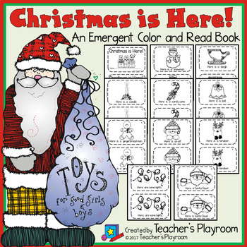 Christmas is Here! Emergent Reader