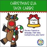 Christmas ELA Task Cards