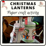 Christmas lantern procedure activity and decoration with A
