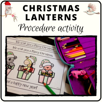 Christmas lantern activity decoration