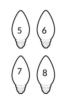 Christmas lights 1-10