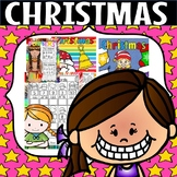 Christmas literacy and math (50% off for 48 hours)
