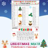 Christmas math: Multiplication codebreaker