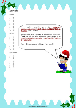 Christmas Fractions