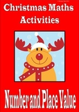 Christmas math activities: number and place value