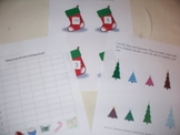 Christmas math handouts