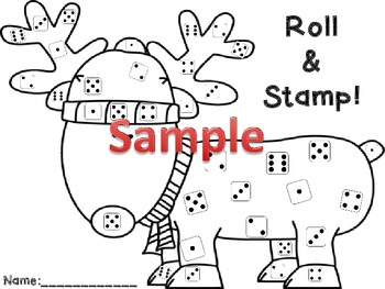 Christmas math mats, games & literacy skills for early childhood, Spanish incl.