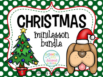 Christmas minilesson bundle