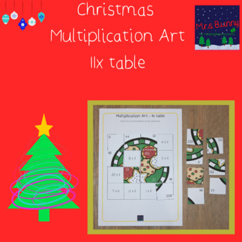 Christmas multiplication revision 11x
