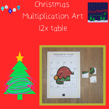 Christmas multiplication revision 12x