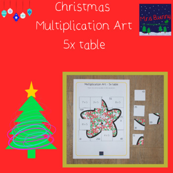 Christmas multiplication revision 5x