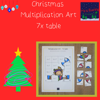 Christmas multiplication revision 7x