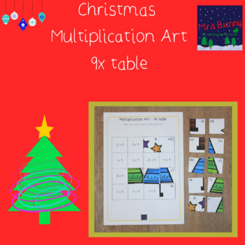 Christmas multiplication revision 9x