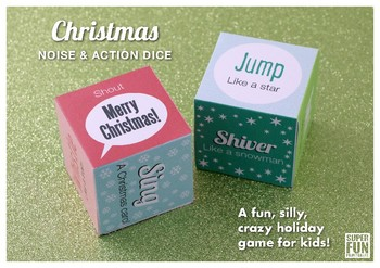 Christmas noise and action dice